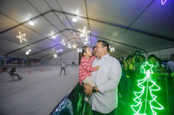 """""""Mérida: Ciudad Mágica"""", un espacio para disfrutar en familia las fiestas decembrinas, afirma Renán Barrera"""