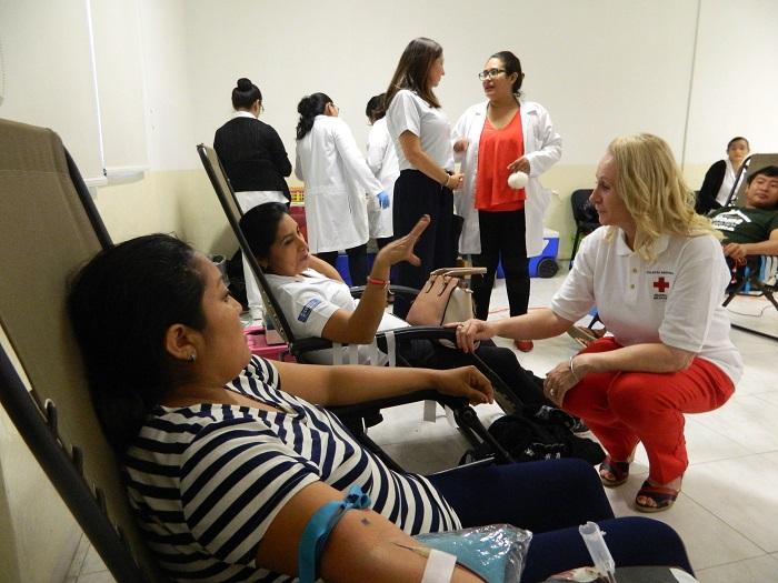 Inicia la jornada de donación de sangre en el Hospital de Ortopedia
