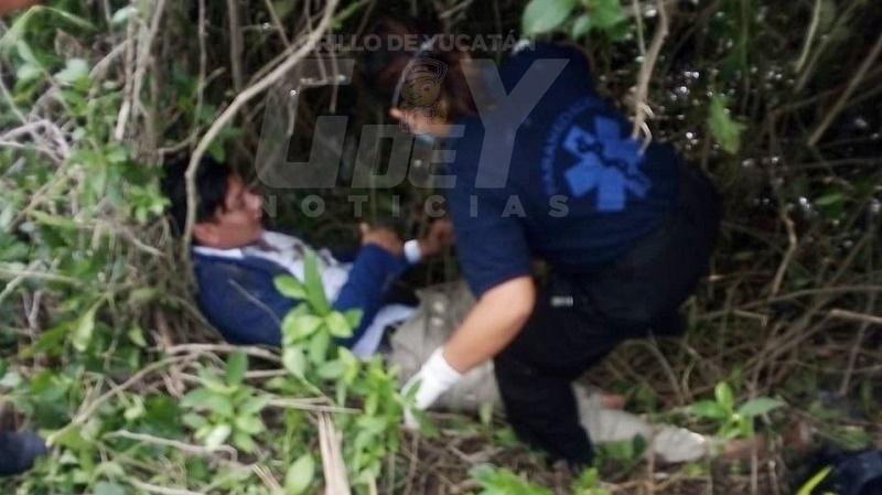 Iba a Telchac Puerto, pero acabó en el Hospital O'Horán: DERRAPA EBRIO