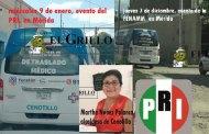 De nuevo va a un evento del PRI en la ambulancia de traslado de Cenotillo