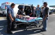 Por volarse un alto, lo choca un Tsuru, en la vía Mérida-Tizimín: hay un herido
