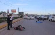 Un trailero huye con todo y su vehículo tras atropellar y matar a un motociclista, en la vía Chetumal-Valladolid