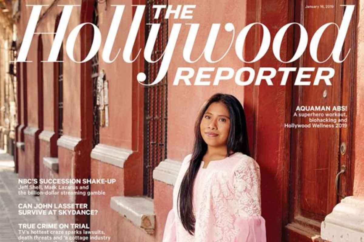 Yalitza Aparicio, la nueva portada de la revista The Hollywood Reporter