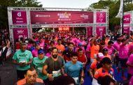 Triste final de carrera: Les roban mientras corrían en el Marathon Mérida 2019