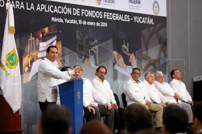 Recursos bien utilizados traerá grandes beneficios a los yucatecos: Mauricio Vila