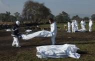 El robo de gasolina PEMEX mata a 79 personas, en Hidalgo: luto por el huachicoleo