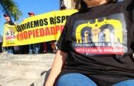Vecinos del fraccionamiento del Arco y Vista Alegre marchan contra la