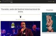 Ni Play Boy ayudó al festival Internacional de la Trova: Michel pagó publicidad a la revista