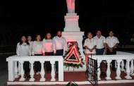 La Comuna de Motul conmemora el XCV Aniversario luctuoso de Felipe Carrillo Puerto