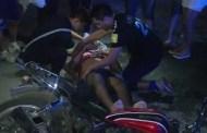 Un motociclista ebrio se vuela un alto y lo atropella un auto, en Tizimín