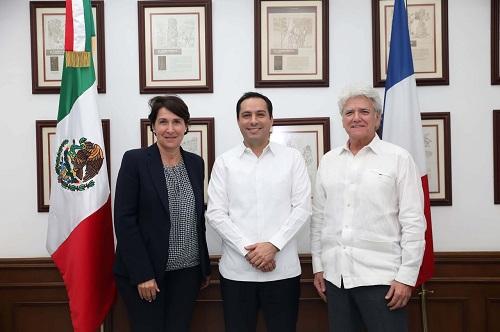 Yucatán y Francia trabajaran en materia económica, medioambiental y educativa
