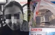 Detienen a Erick Alberto con una caja de dólares falsos