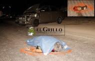 Atropella y mata a un hombre, choca con dos autos y huye, en la Mérida-Umán
