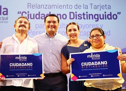 """Inicia el programa """"Ciudadano Distinguido"""" con promociones para personas con discapacidad"""