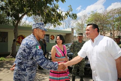 La Comuna y el Ejército trabajan a favor de la cultura de la paz y la seguridad, afirma Renán Barrera