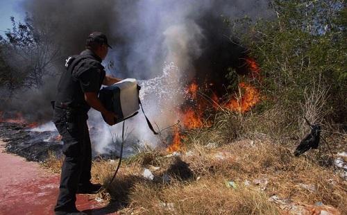 Doce dependencias combatirán incendios durante la temporada de calor 2019