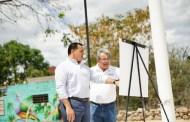 La Comuna de Mérida rehabilita y mejora el parque de la colonia Sambulá