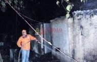 Se quema una choza y ocurren tres incendios forestales en Oxkutzcab