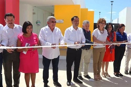 Mauricio Vila entregó la tercera etapa del Centro de Justicia para las Mujeres