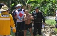 Medio ebrio, ex comisario ejidal de Hunucmá cae a un pozo: Resulta ileso