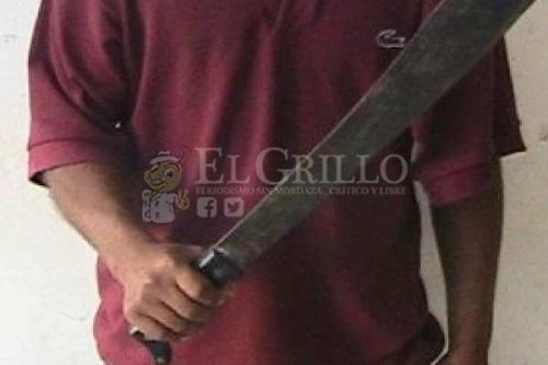 Un juez lo deja libre, luego de que macheteó a una persona en Ciudad Caucel
