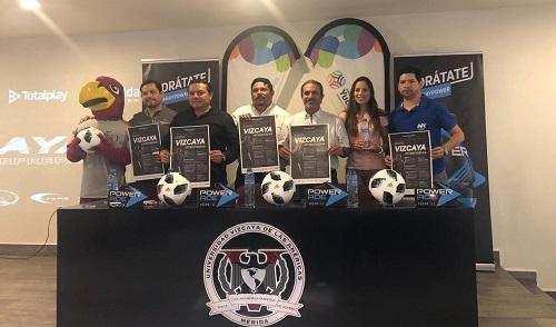 Del 22 al 24 de marzo se jugará la Primera Copa Vizcaya de las Américas en tres deportes