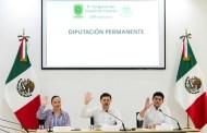 Cid Aguilar rinde compromiso como el nuevo consejero del INAIP