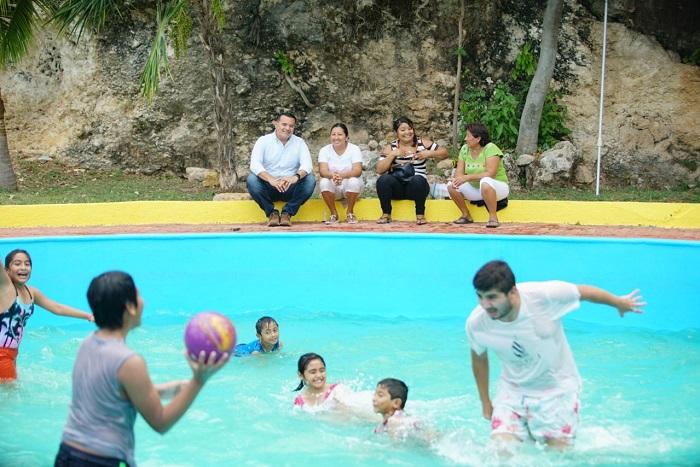 Las piscinas del Acuaparque, una opción para estas vacaciones