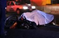 Derrapa con su moto y muere, en la carretera Uayma-San Pedro