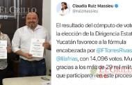 Confirman el triunfo de Panchito Torres: Dirigirá al PRI estatal cuatro años