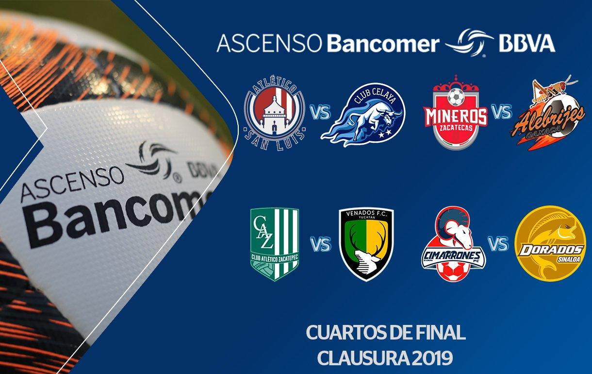 Los Venados enfrentarán al Zacatepec en la Liguilla de la Liga de Ascenso MX