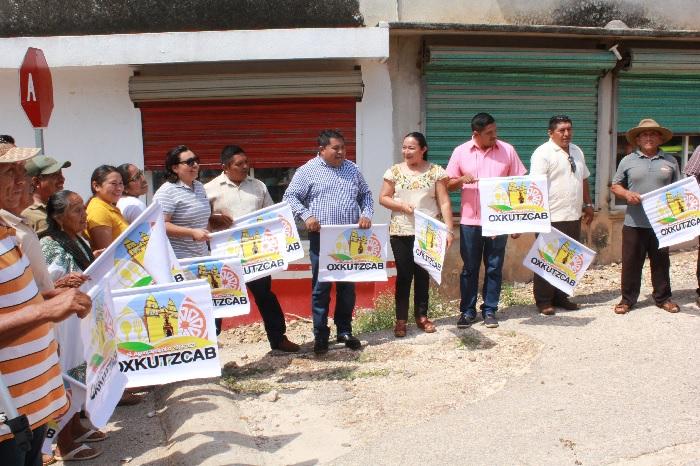 Anuncian más obras en Oxkutzcab, en beneficio de las familias