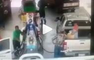 Padre e hija se queman de un flamazo, en una gasolinera de Querétaro (VÍDEO)