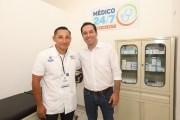 Mauricio Vila inicia el programa