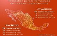 Inicia la Temporada de Lluvias y Ciclones Tropicales 2019