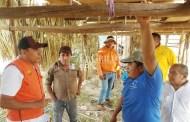 """Alistan el """"tablado"""" de Xohuayán, para la fiesta en honor a San Isidro Labrador"""