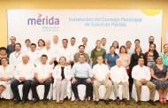 Instalan el Consejo Municipal de Salud para beneficiar a los sectores más vulnerables de Mérida