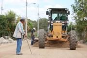 La Comuna avanza en la construcción y rehabilitación de vialidades al interior del Periférico