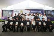 Celebran el XVI Aniversario de la Policía Municipal de Mérida
