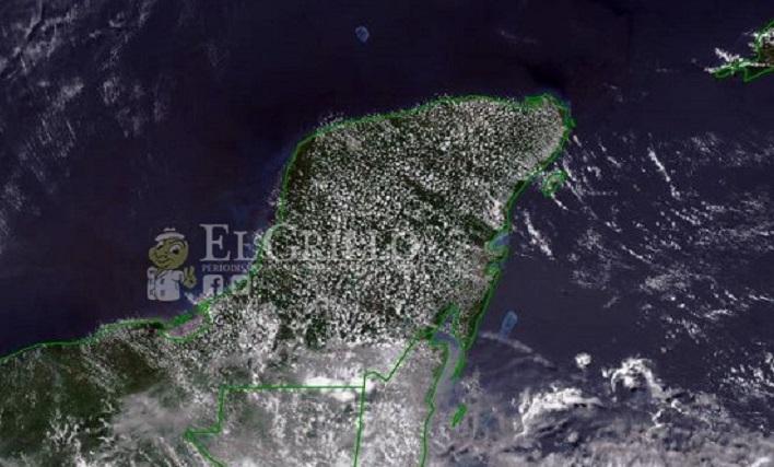 Hoy sábado Yucatán tendrá 40º grados de calor y lloviznas, debido a una onda tropical