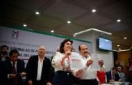 Ivonne Ortega y José Alfaro se inscriben como fórmula para contender por la dirigencia del PRI