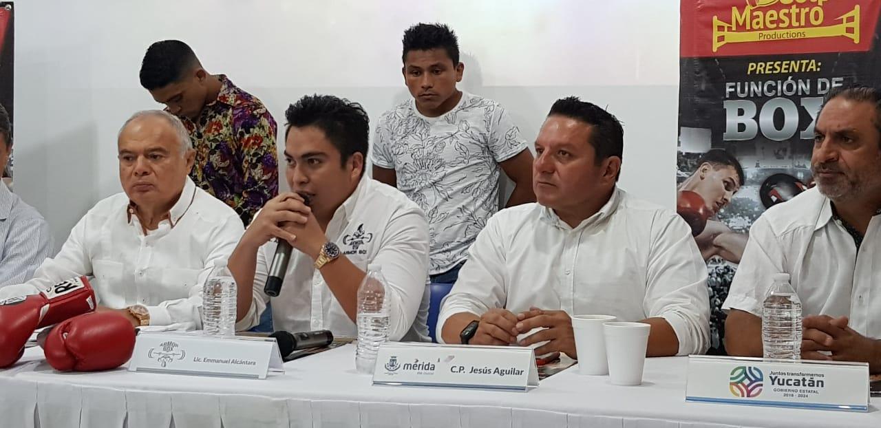 """Granados y el """"Veneno"""" López pelearán por el título estatal de peso Gallo, el 20 de julio en el Polifuncional"""