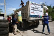 Recolectan 135.5 toneladas de basura durante la descacharrización masiva 2019