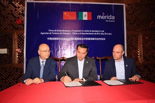 La Comuna de Mérida potenciará el turismo y el intercambio con Chengdú, China