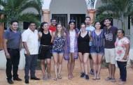 Estudiantes de intercambio llegan a Oxkutzcab para aprender su cultura