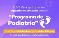 El 20 de julio se llevará al cabo la jornada de Podiatría, en Progreso