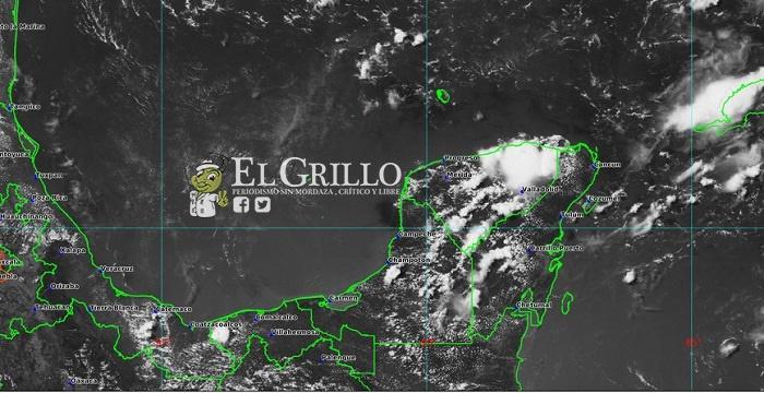 Sábado de 37º y domingo de 38º, además de tormentas en varias partes de Yucatán
