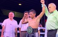 """Después de 34 años, """"Veneno"""" López se convierte en el primer campeón Estatal Gallo, derrota a Junior Granados"""