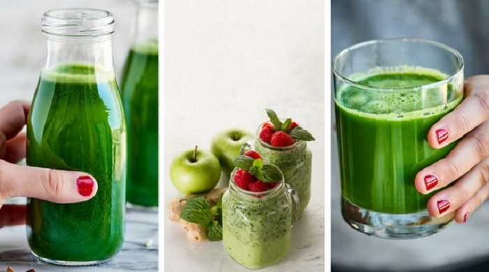 zumos verdes para celulitis
