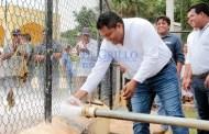Amplían la red del agua de Xohuayán: La Comuna gastó dos millones de pesos